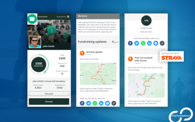 CharityCheckout launches Strava integration with virtual events & fundraising product