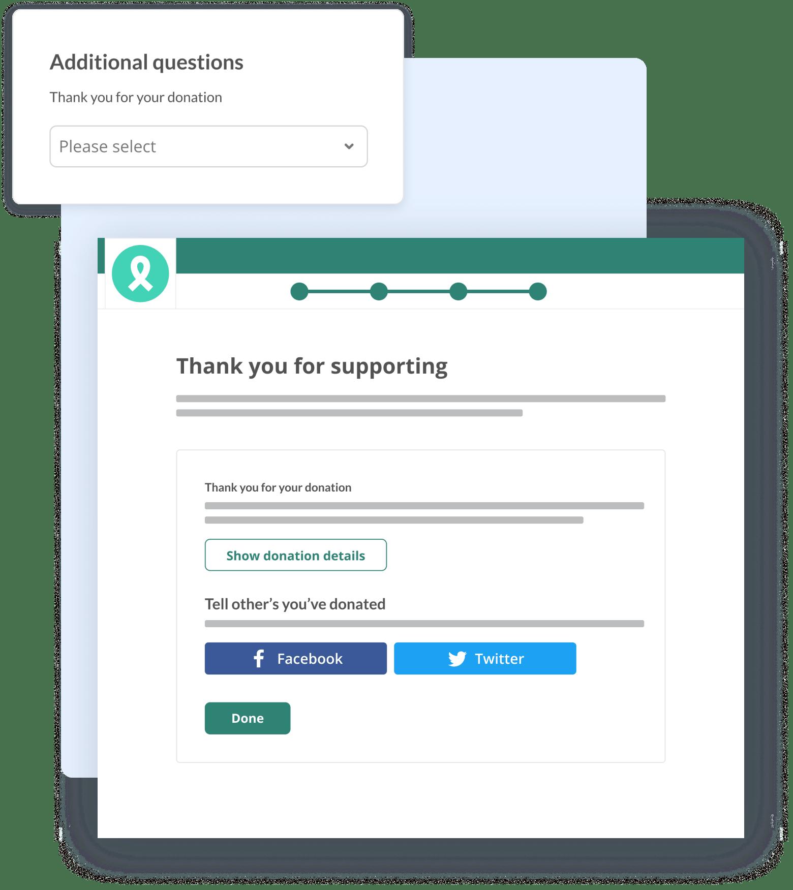 Custom data capture screenshot