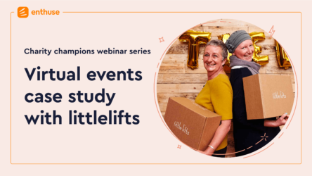 Virtual Events – Webinar case study with Oa Hackett @ littlelifts