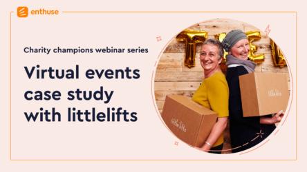 Virtual Events – Webinar case study with Oa Hackett @ littlelifts