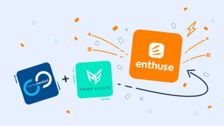 Enthuse is the new brand for CharityCheckout and Primo Events