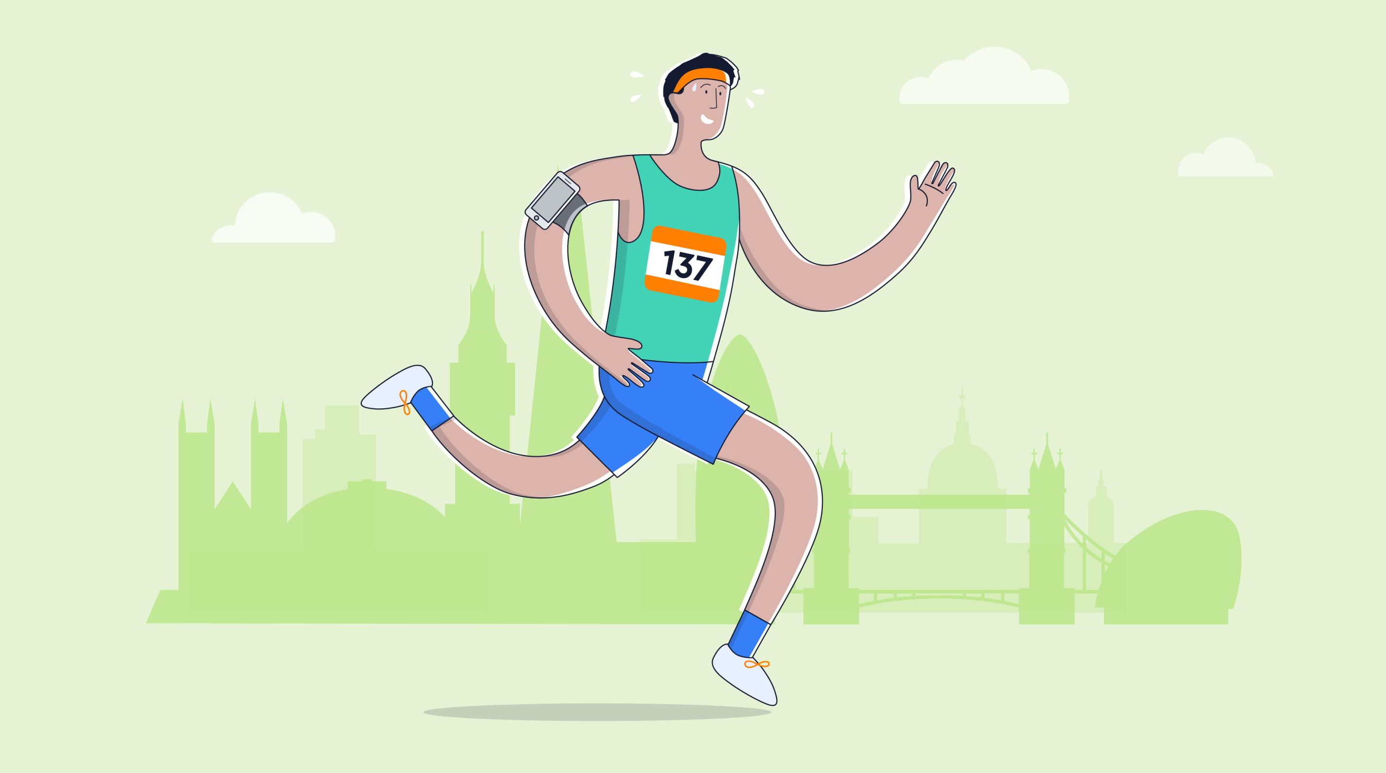 London Marathon update for charities