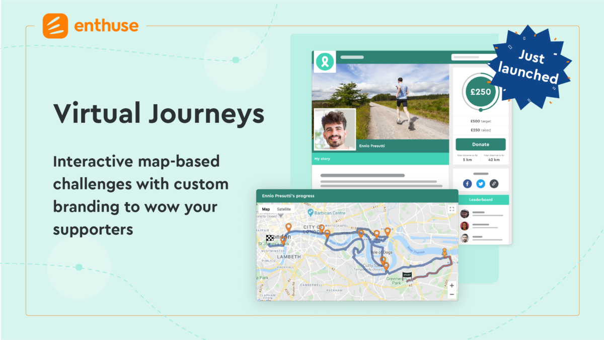 Enthuse launches Virtual Journeys