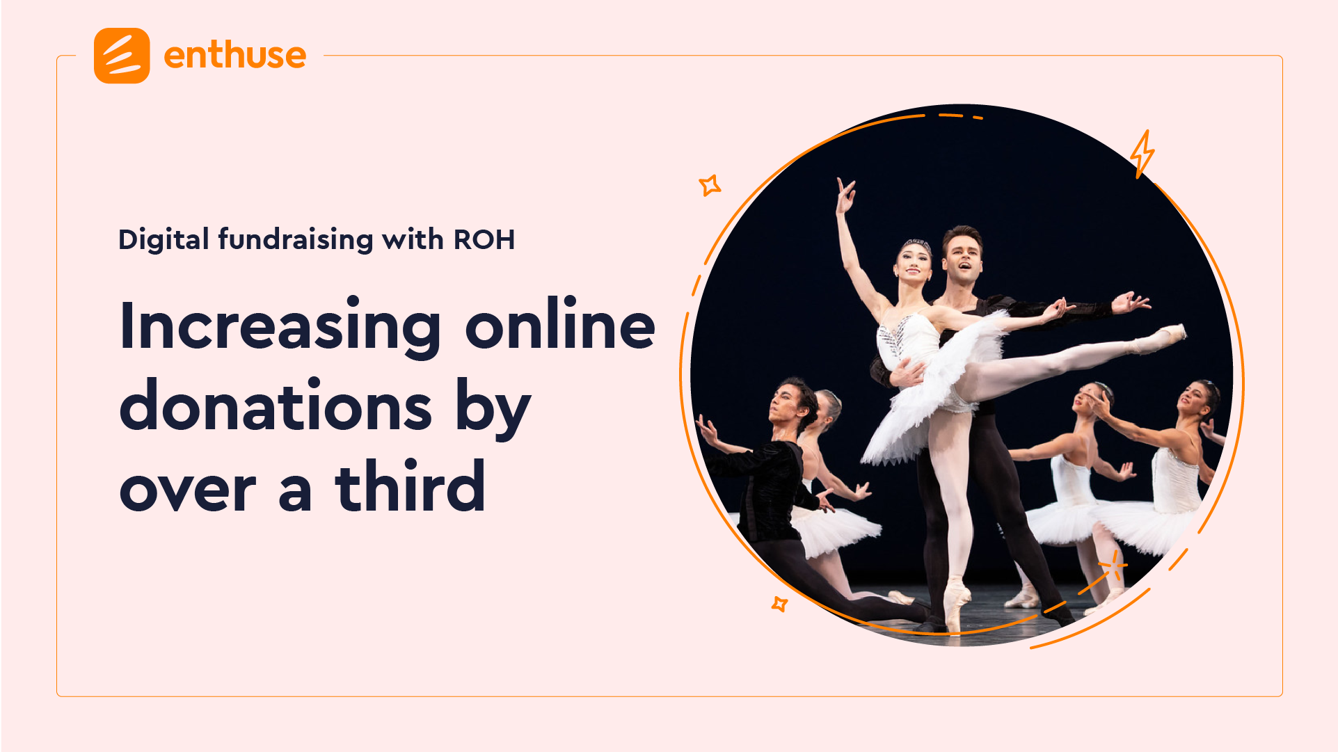 How the Royal Opera House increased online donations by over a third